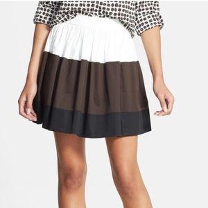 KATE SPADE Colorblock Coreen Skirt Striped